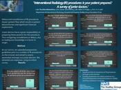 International Radiology (IR) procedures: Is your patient prepared? A survey of junior doctors.